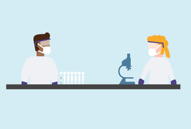 How We Test Swab Samples - Animation